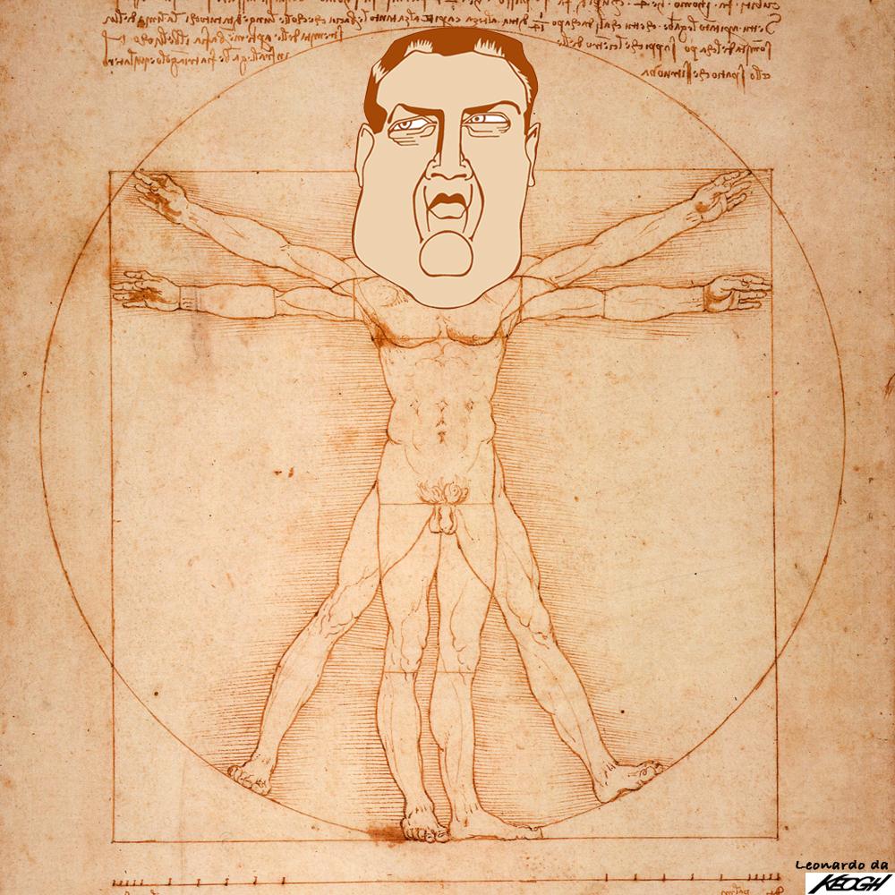 With apologies to Leonardo da Vinci