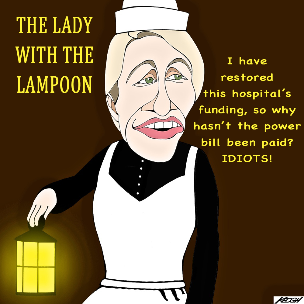 "Tanya 'Florence' Plibersek to the rescue: ""The cash injection will be paid directly to local hospital networks ... and will not pass through the hands of the Baillieu government which has proven itself to be a cruel and incompetent manager of the Victorian health system."""